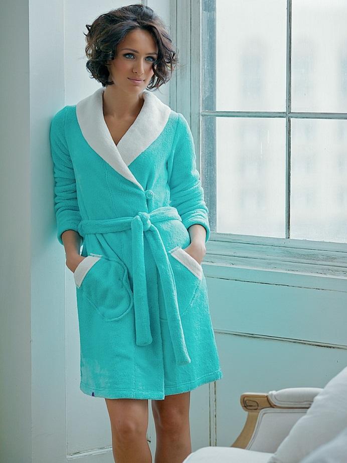 27388ad5b7767 тёплые халаты женские фото