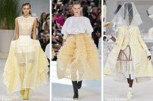 Модные тенденции 2020 года в одежде для девушек