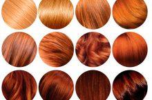 Оттенки рыжего на волосах от огненных до светлых — выбор нужного тона
